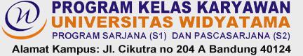 Kelas Karyawan S1 S2  Universitas Widyatama Bandung